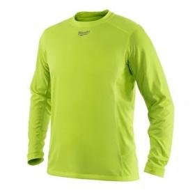WWLSY-M - Light weight performance long sleeve shirt - HI-VIS WORKSKIN™