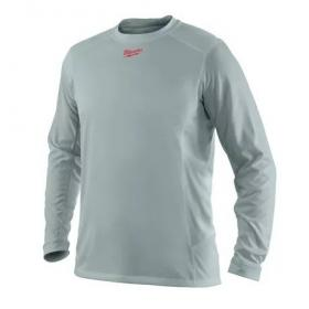 WWLSG-L - Light weight performance long sleeve shirt grey WORKSKIN™