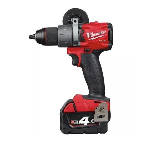 M18 FPD2-402C - Percussion drill 18 V, 4.0 Ah, FUEL™, in case, with 2 batteries and charger