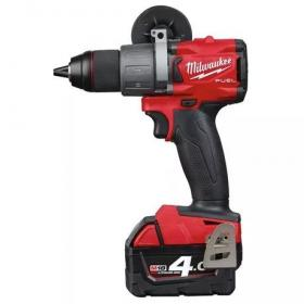 M18 FDD2-402C - Drill drivers 18 V, 4.0 Ah, FUEL™, in HD Box, with 2 batteries and charger