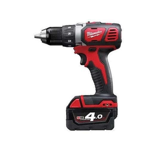 M18 BDD-402X - Compact drill drivel, 18 V, 4.0 Ah, in case, with 2 batteries and charger