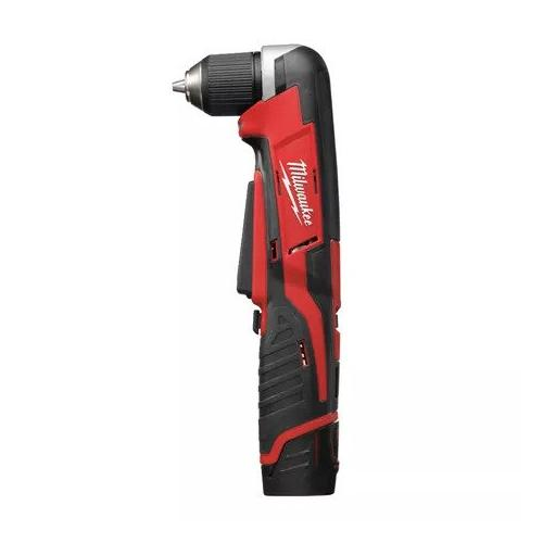 C12 RAD-202B - Sub compact right angle drill 12 V, 2.0 Ah, in HD Box, with 2 batteries and charger