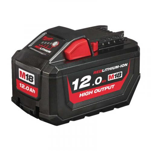 M18 HB12 - Battery M18™ HIGH OUTPUT™, Li-ion 18 V, 12.0 Ah