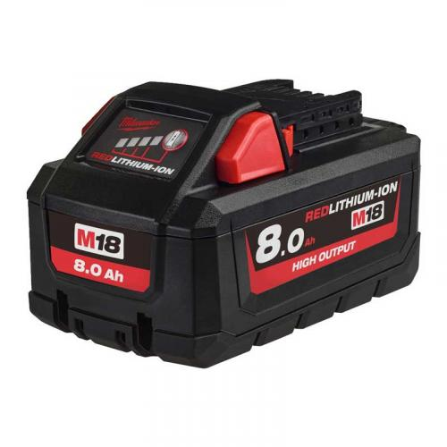 M18 HB8 - Battery M18™ HIGH OUTPUT™, Li-ion 18 V, 8.0 Ah