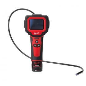 M12 IC-201C - Kamera inspekcyjna M-SPECTOR™, M12™, z obrotowym ekranem, w walizce, z akumulatorem i ładowarką