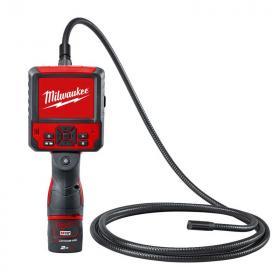 M12 IC AV3-201C - Cyfrowa kamera inspekcyjna 12 V, 2.0 Ah, z akumulatorem i ładowarką