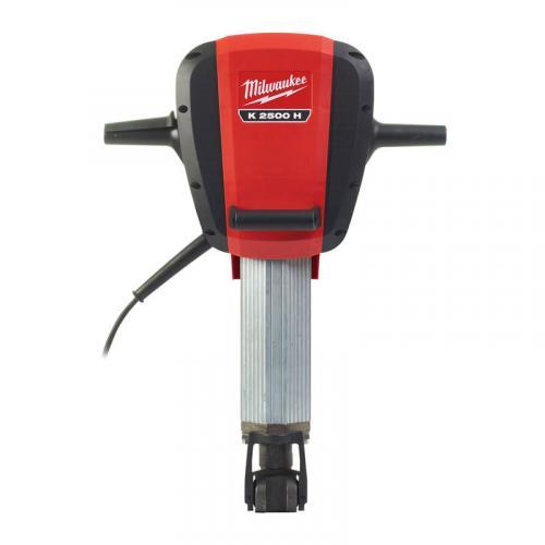 K 2500 H - Breaking hammer class 25 kg, 2100 W, HEX 28 mm