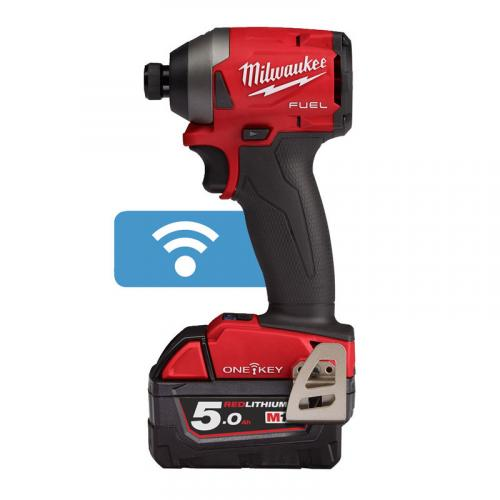 M18 ONEID2-502X - 1/4″ HEX impact driver 18 V, FUEL™ ONE-KEY™, in case, with 2 batteries and charger