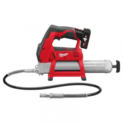 M12 GG-401B - Sub compact grease gun 12 V, 4.0 Ah, in bag with battery and charger