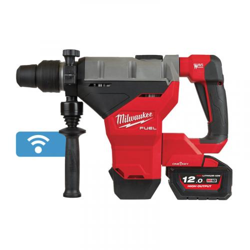 M18 FHM-121C - SDS-Max drilling and breaking hammer class 8 kg, 18 V, 12.0 Ah, ONE-KEY™, in case, with battery and charger
