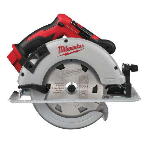 M18 BLCS66-0X - Brushless circular saw for wood and plastics 66 mm, 18 V, without equipment