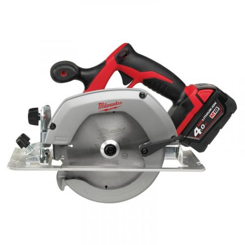 HD18 CS-402B - Circular saw for wood and plastic 55 mm, 18 V, 4.0 Ah, HEAVY DUTY, with 2 batteries and charger