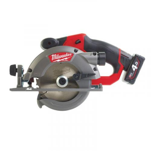 M12 CCS44-402C - Sub compact circular saw 44 mm, 12 V, FUEL™, 44 mm, 12 V, 4.0 Ah, FUEL™, with 2 batteries and charger
