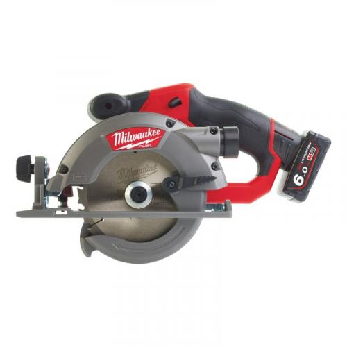 M12 CCS44-602X - Sub compact circular saw 44 mm, 12 V, FUEL™, with 2 batteries and charger