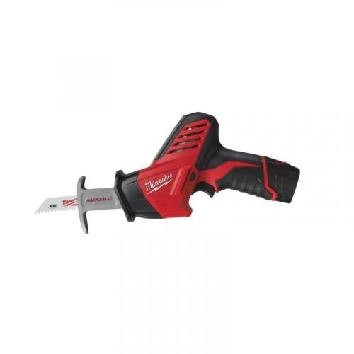 C12 HZ-202C - Sub compact reciprocating saw 12 V, 2.0 Ah, HACKZALL™, in case with 2 batteries and charger