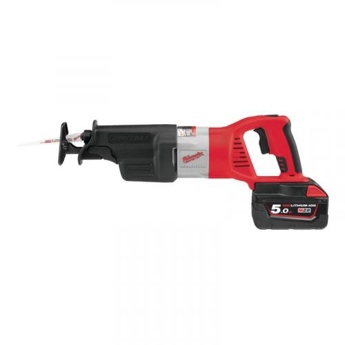 HD28 SX-502C - Reciprocating saw 28 V, 5.0 Ah, SAWZALL™, HEAVY DUTY, in case with 2 batteries and charger