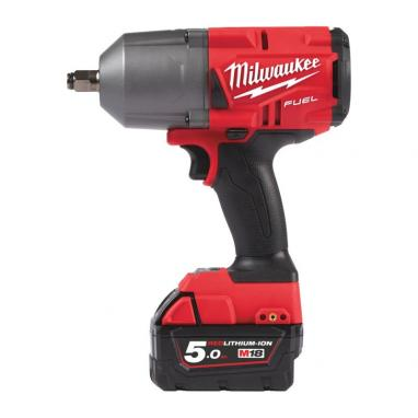 "M18 FHIWF12-502X - 1/2"" Impact wrench, 1356 Nm, 18 V, FUEL™, in case, with 2 batteries and charger"