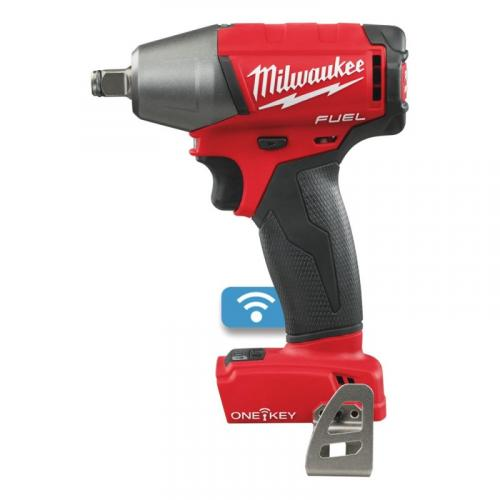 "M18 ONEIWF12-0X - 1/2"" Impact wrench, 300 Nm, 18 V, ONE-KEY™, in case, without equipment"