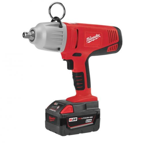 "HD28 IW-32C - 1/2"" Impact wrench, 440 Nm, 28 V, HEAVY DUTY, in case, with 2 batteries and charger"