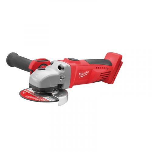 HD28 AG125-0X - Angle grinder 125 mm, 28 V, HEAVY DUTY, slide switch, in case, without equipment