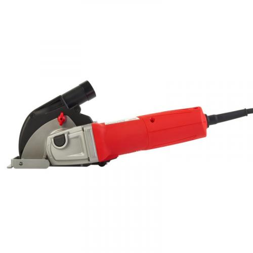 AGV 12-125 X DEC-SET - Angle grinder with dust management 125 mm, 1200 W, slide switch, in case