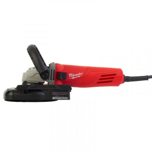 AGV 12-125 X DEG-SET - Angle grinder with dust management 125 mm, 1200 W, slide switch, in case