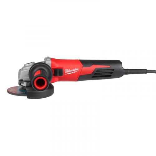 AGV 13-125 XE - Angle grinder with AVS 125 mm, 1250 W, slide switch
