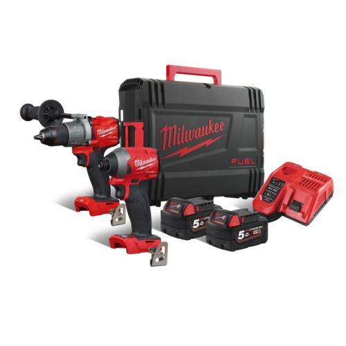 M18 FPP2A2-502X - POWERPACK M18™ FUEL™, M18 FPD2, M18 FID2, 2 x 5.0 Ah + charger, in case