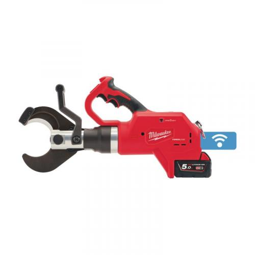 M18 HCC75-502C - Hydraulic underground cable cutter 18 V, 5.0 Ah, 75 mm, in case with 2 batteries and charger