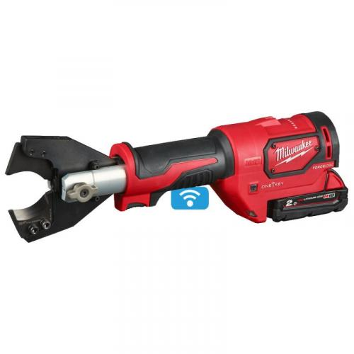 M18 ONEHCC-201C FSW SET - Hydraulic cable cutter 18 V, 2,0 Ah, 35 mm, ONE KEY ™, in case with battery and charger