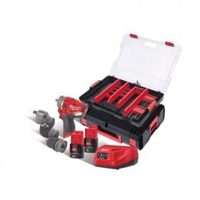 M12 FPDXKIT-202XA - Zestaw POWERPACK M12™, M12 FPDXKIT, akcesoria, 2 x 2.0 Ah + ładowarka, w walizce