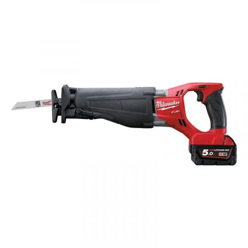 M18 CSX-502X - Reciprocating saw 18 V, 5.0 Ah, SAWZALL™, FUEL™, in case with 2 batteries and charger