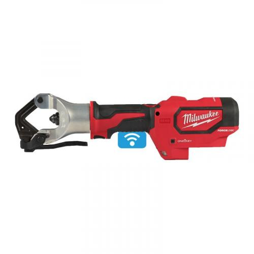 M18 HDCT-0C - Hydraulic cable crimper 18 V, FORCE LOGIC™, ONE-KEY™, in case, without equipment