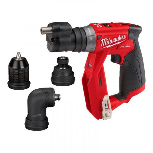 M12 FDDXKIT-0X - Sub compact drill/driver with removable chucks 12 V, FUEL™, in case, without equipment