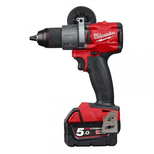 M18 FDD2-502X - Drill driver 18 V, 5.0 Ah, FUEL™, in case, with 2 batteries and charger