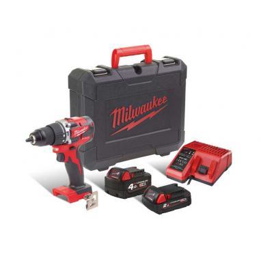 M18 CBLPD-422C - Zestaw bezszczotkowy POWERPACK M18™, M18 CBLPD, 2.0 i 4.0 Ah + ładowarka, w walizce