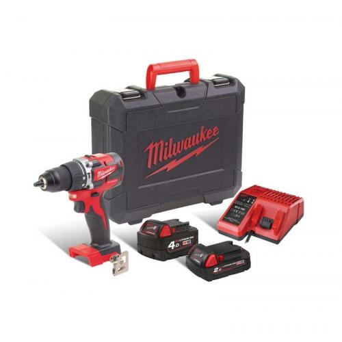 M18 CBLPD-422C - Brushless POWERPACK M18™, M18 CBLPD, 2.0 & 4.0 Ah + charger, in case