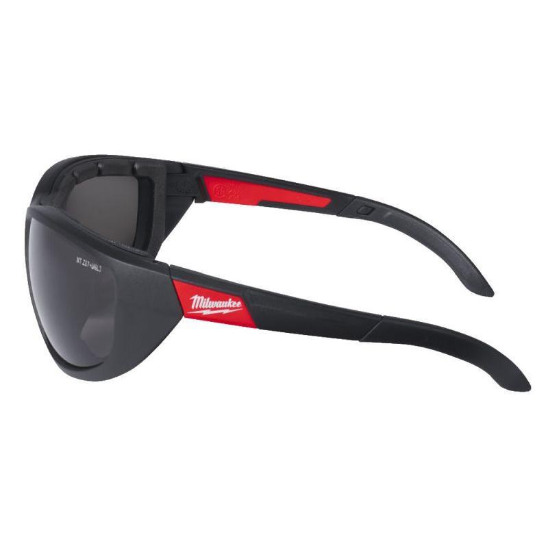 Okulary ochronne premium z uszczelką przyciemniane