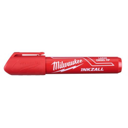 4932471556 - INKZALL Red L Chisel Tip Marker
