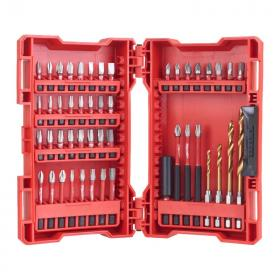 4932430906 - Zestaw bitów i wierteł 48 szt 25 mm PH1-PH3, PZ1-PZ3, TX10-TX40, Hex 4,Hex 5, SL 0,6-6,5, 50 mm PH1-PH2,PZ1,TX10-