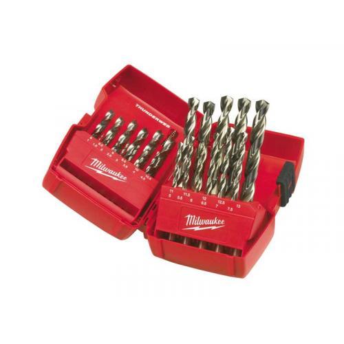 4932352376 - Set of 25 hss-g thunderweb metal drill bits, 1 - 13 mm