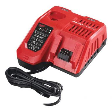 M12-18 FC - Fast charger M12™, M14™, M18™, 12 - 18 V, 2.0, 4.0, 5.0, 6.0 & 9.0 Ah