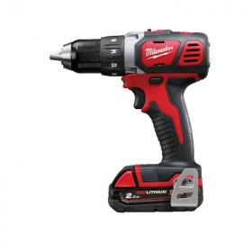 M18 BDD-202C - Compact drill drivers 18 V, 2.0 Ah, in HD Box, with 2 batteries and charger