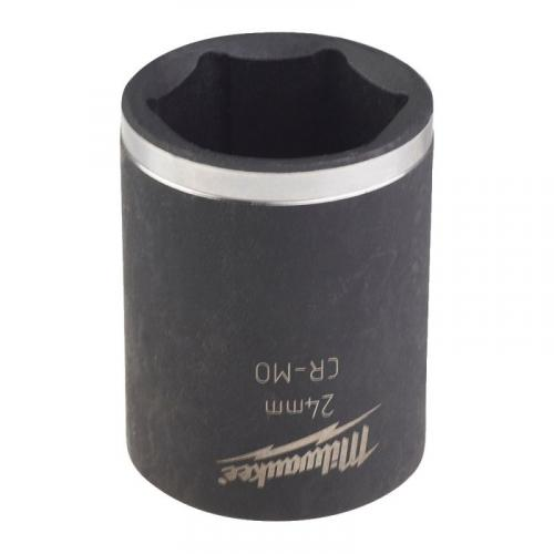 "4932478047 - 1/2"" SHOCKWAVE™ hex impact socket, 24 mm"