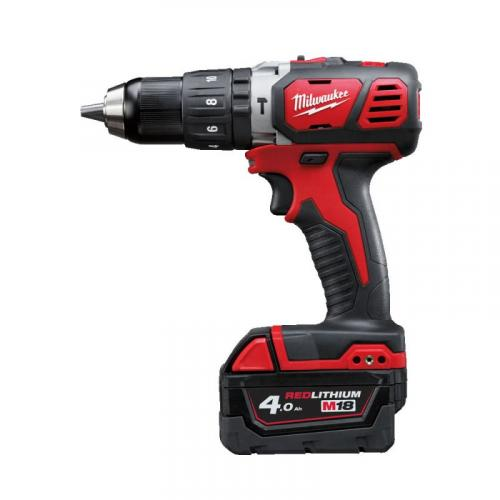 M18 BPD-402C - Compact percussion drill 18 V, 4.0 Ah, in case, with 2 batteries and charger