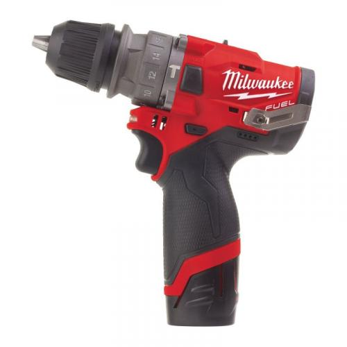 M12 FPDX-202X - Sub compact percussion drill with removable chuck 12 V, 2.0 Ah, with 2 batteries and charger