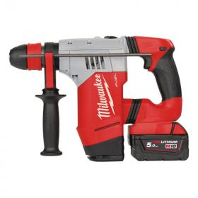 M18 CHPX-502X - High performance SDS-Plus hammer 18 V, 5.0 Ah, FUEL™, in HD Box, with 2 batteries and charger