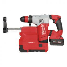M18 CHPXDE-502C - High performance SDS-Plus hammer with dedicate dust extractor 18 V, 5.0 Ah, FUEL™