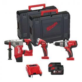 M28 PACK G-502X - Zestaw POWERPACK M28™, HD28 PD, M28 CHPX, M28 WL, 2 x 5.0 Ah + ładowarka, w walizce