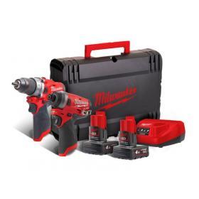 M12 FPP2A-402X - Zestaw POWERPACK M12™, M12 FPD, M12 FID, 2 x 4.0 Ah + ładowarka, w walizce